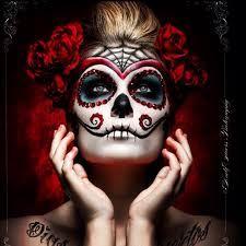 """Résultat de recherche d'images pour """"maquillage squelette mexicain"""""""