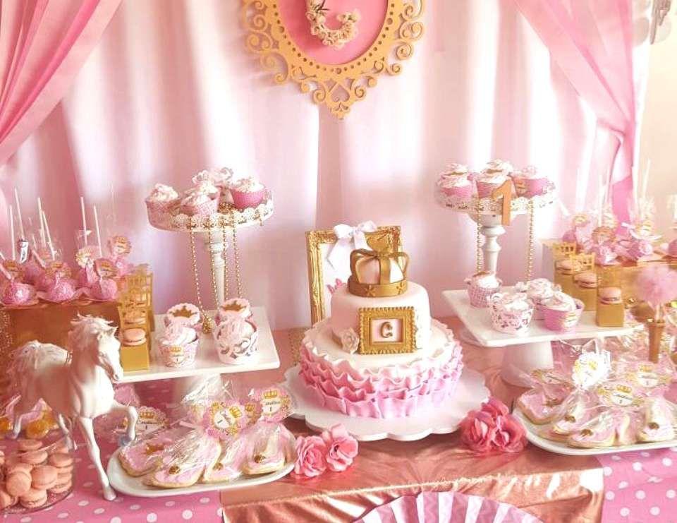 """Princesa / Birthday """"Primer año de la princesa de la casa"""