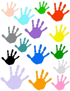 Handprint Clip Art 18 Png Images Of A Real Child S Hand Clip Art Kids Hands Handprint Art