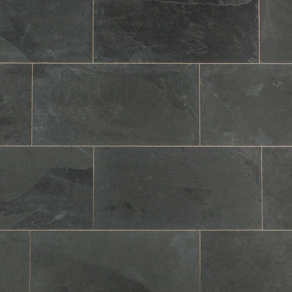 Builddirect Slate Tile Montauk Black Architecture Floors