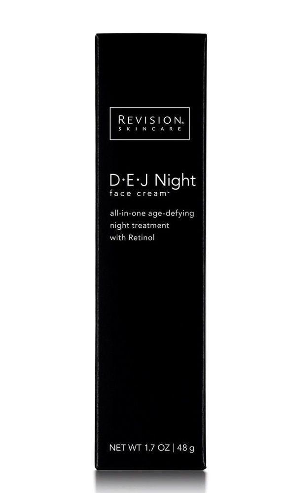Revision Skincare DEJ Night Face Cream 1.7 oz Retinol