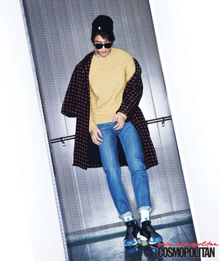 김영광, 성준의 스타일리시한 일상, Cosmopolitan Korea March 2013