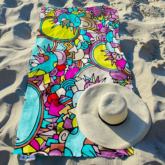 Boost Your Fun In The Sand Ultra Soft Absorbent And Quick Drying