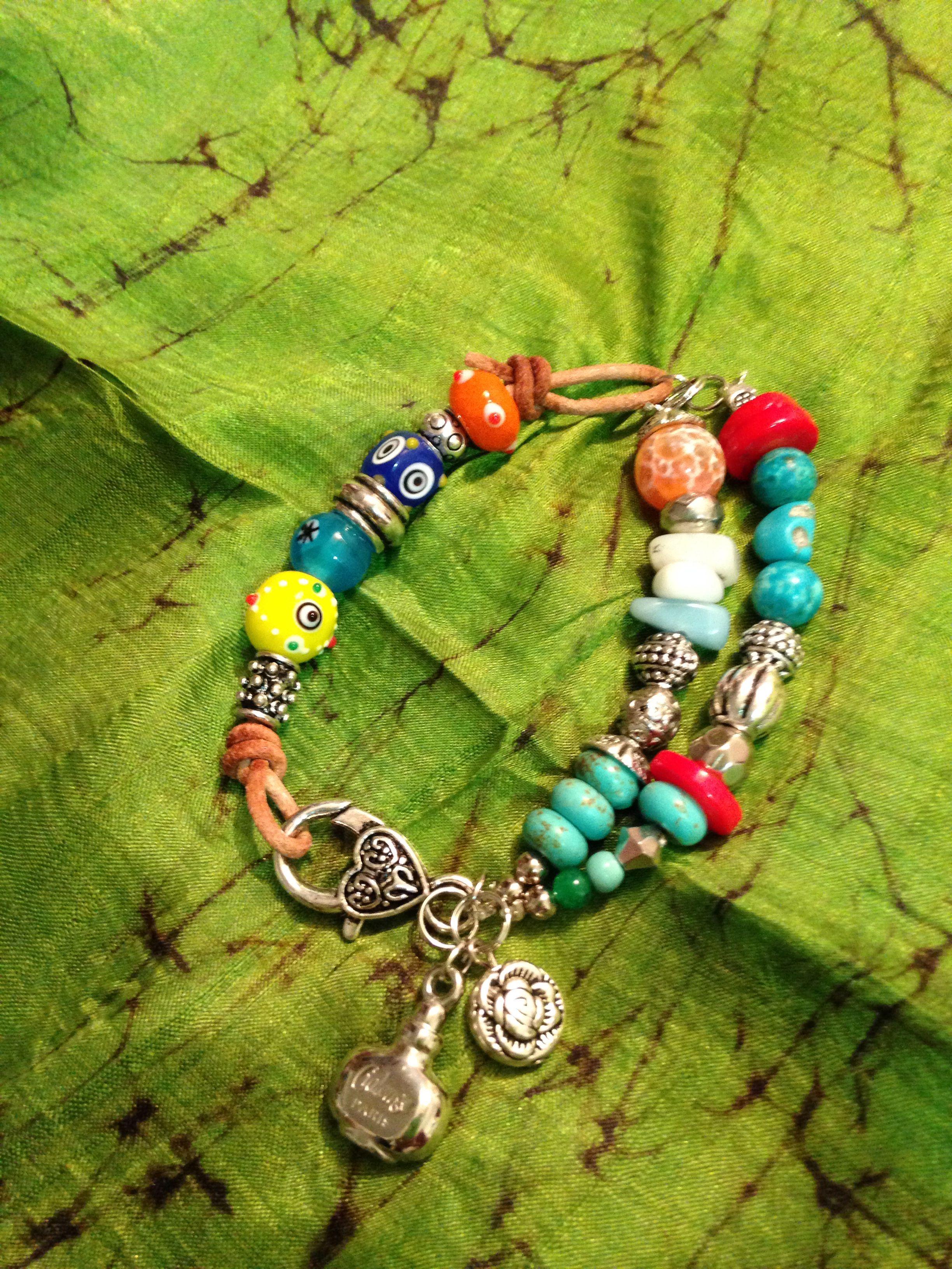 Multicolors beads bracelet