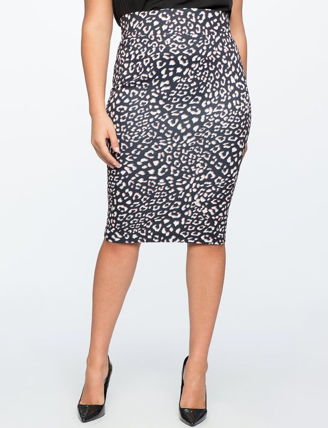 97b4f20a5 Neoprene Pencil Skirt   Women's Plus Size Skirts   From Spare Room ...