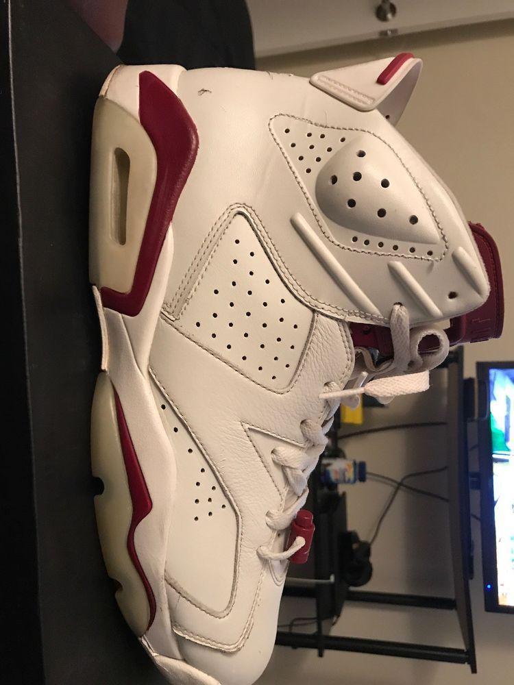 Nike Air Jordan 6 VI Retro Maroon 384664-116 Men s Size 12 B-Grade  fashion   clothing  shoes  accessories  mensshoes  athleticshoes (ebay link) eed110c0a3