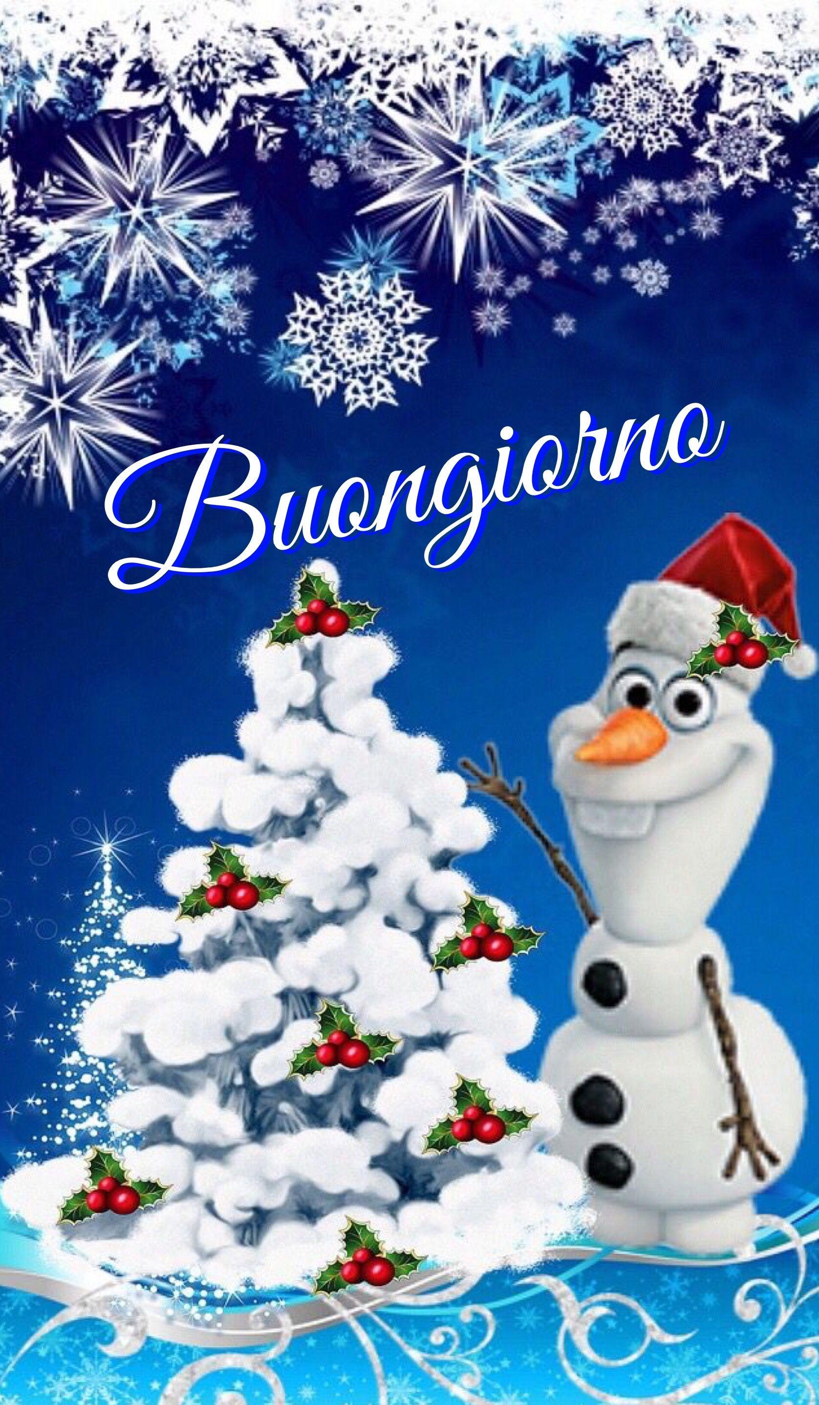 Buongiorno Frozen Christmas Art Disney Pictures Xmas