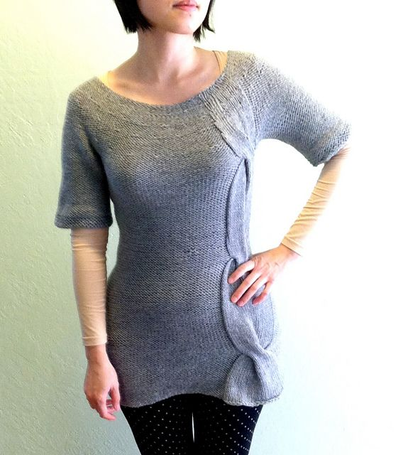 Knitted Bliss: Modification Monday: Simple Twist