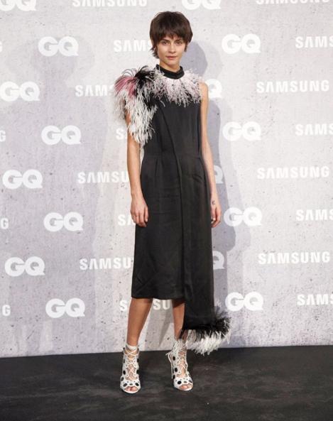 67f94ae5c67 Alba Galocha at the GQ Gala in Paris - november 2016