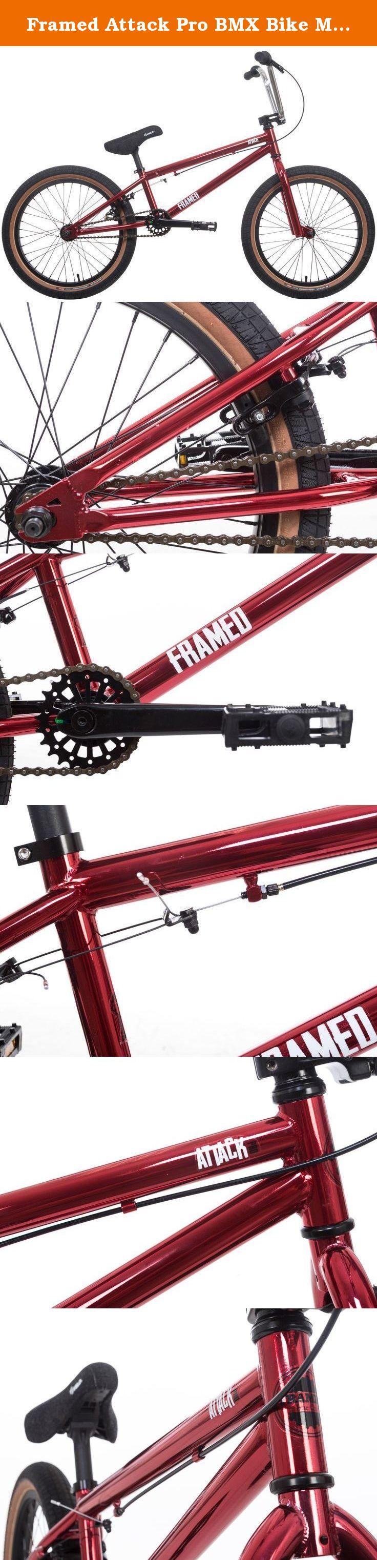 Framed Attack Pro BMX Bike Mens Sz 20in/20.5in Top Tube. Frame ...