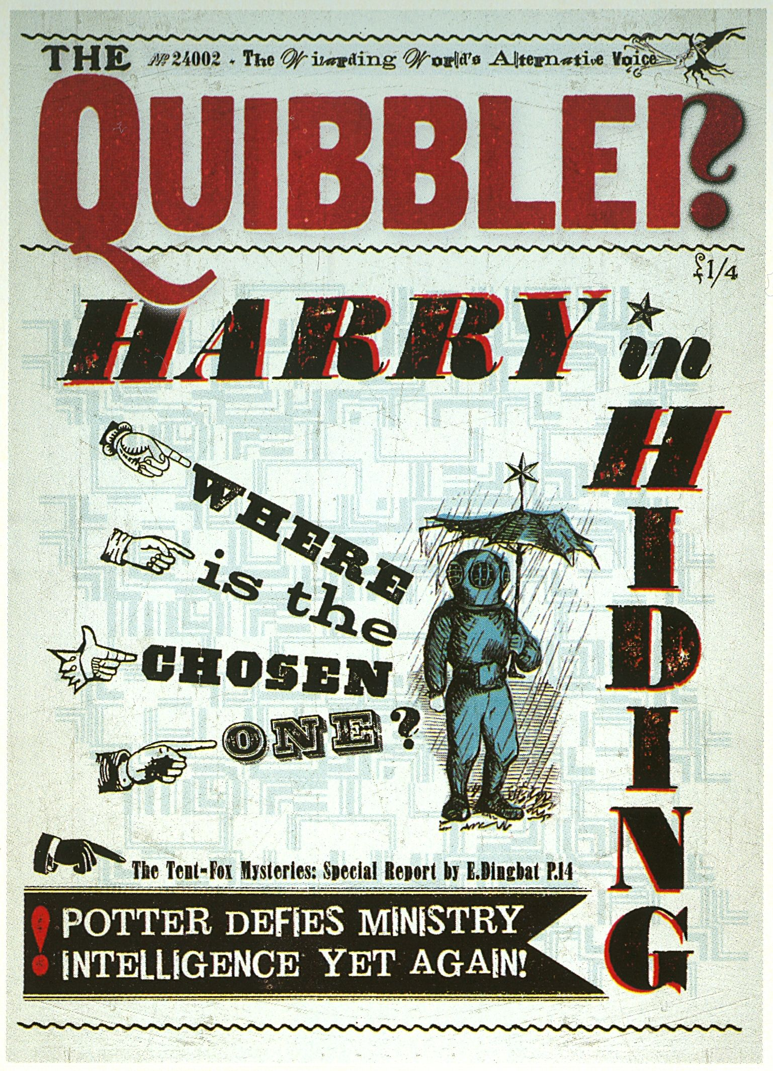 The Quibbler in 2019 | Harry potter, Harry potter ...Quibbler Printable