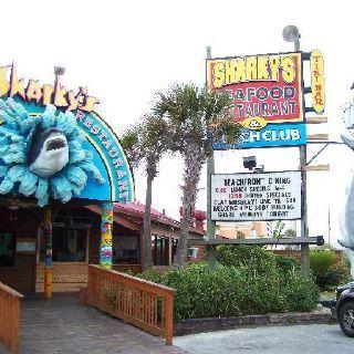Sharky S Panama City Beach Great Place To Eat Atmosphere Karaoke Nights