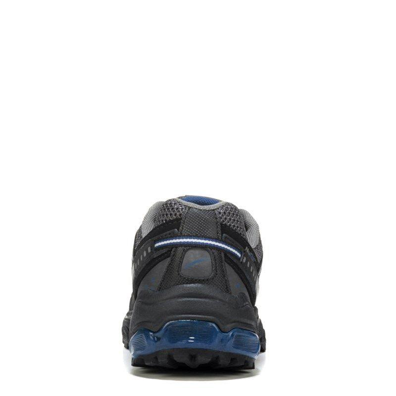 L.a. Gear Men's Trek Memory Foam X-Wide Trail Running Shoes (Black/Grey