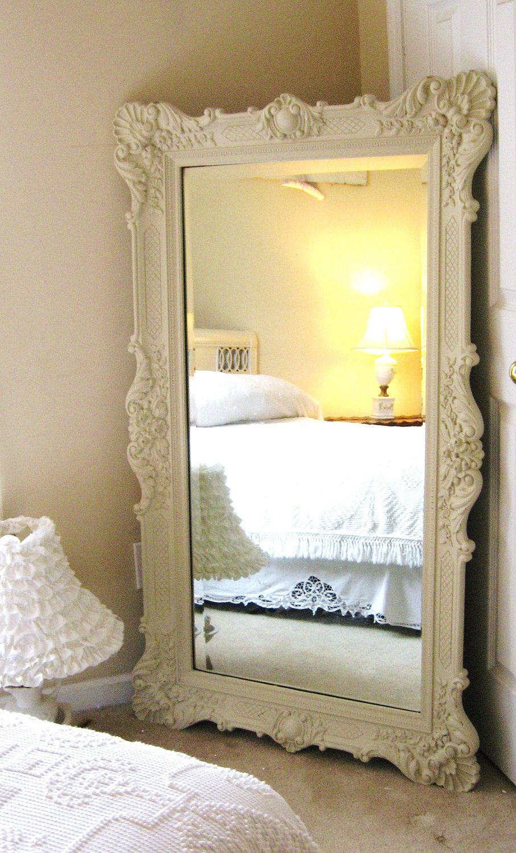 D r e s s i n g mirror vintage leaning mirror floor mirror