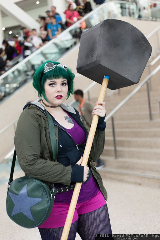 Scott pilgrim vs the world cosplay