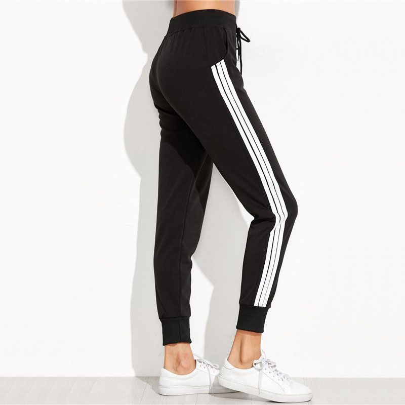 "Click to see ""Adidas-Looking 3 Stripes Women's Sweatpants"" on Aliexpress.  Please"