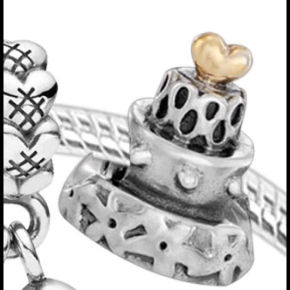 Retired Wedding Cake Pandora Charm Pandora Charms Pandora Jewelry Bracelets Pandora