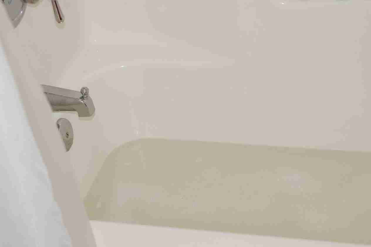 How to wash wood blinds in tub