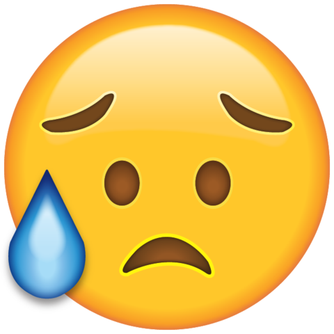 Disappointed But Relieved Face Emoji Crying Emoji Emoji Drawings Emoji