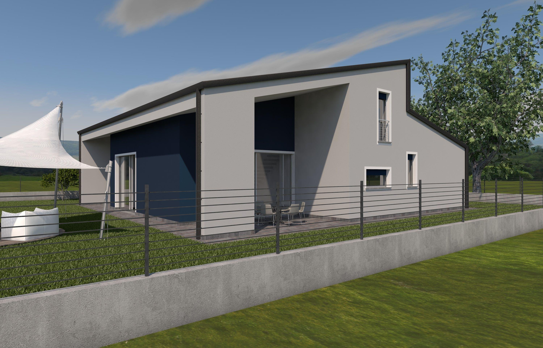 Progetti case moderne la mostra il quadro x progetti di for Esterni case moderne