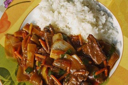 Rindfleisch mit Zwiebeln von neocard | Chefkoch #beeffajitamarinade