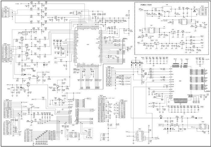 hisense tv circuit diagram