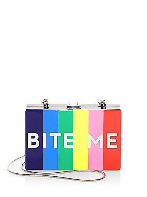 Milly Bite Me Box Convertible Clutch