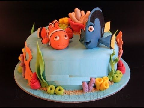 Decorare una torta di compleanno Torta Nemo Decorate a birthday