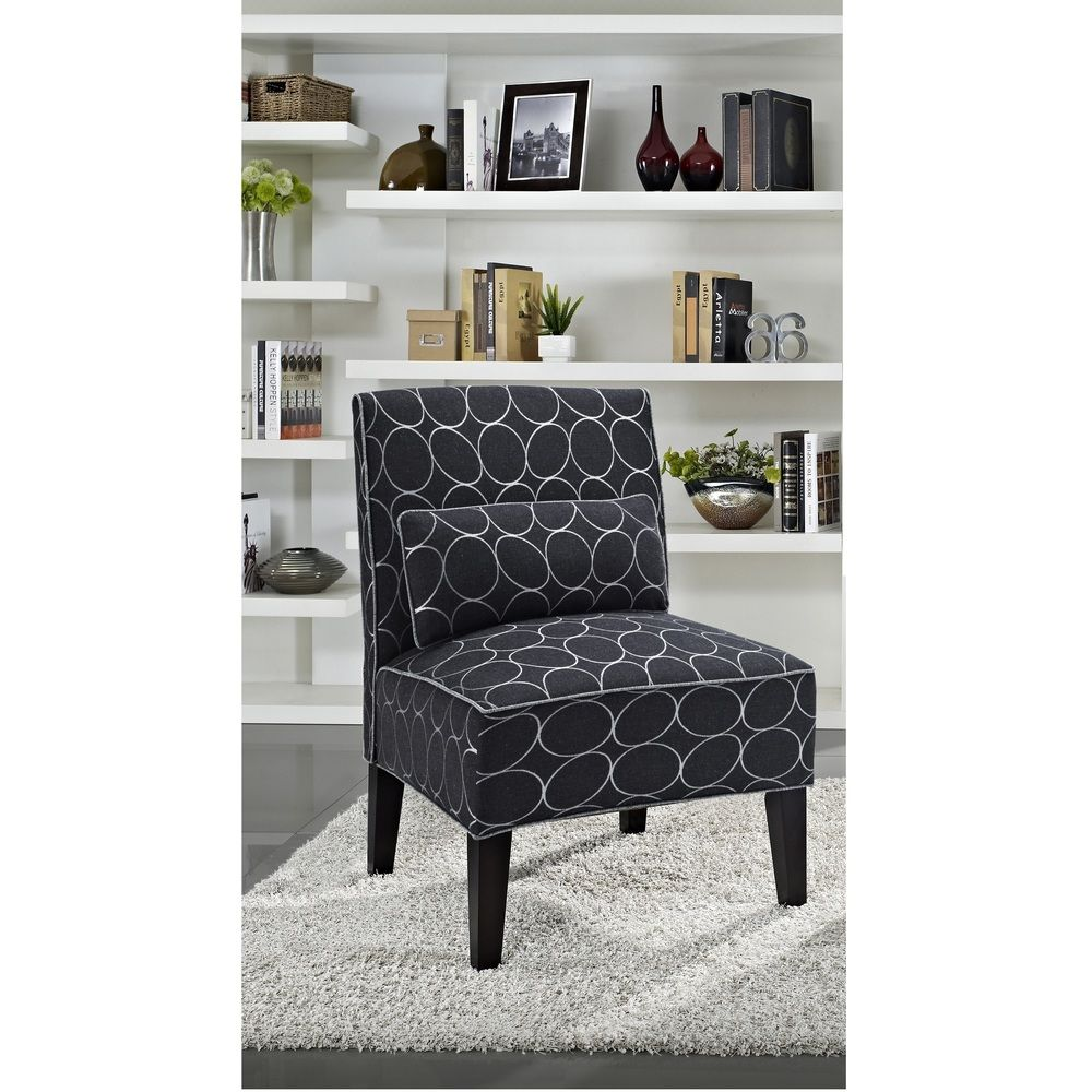 cambria circular pattern upholstered slipper chair for the home chair white dining room. Black Bedroom Furniture Sets. Home Design Ideas