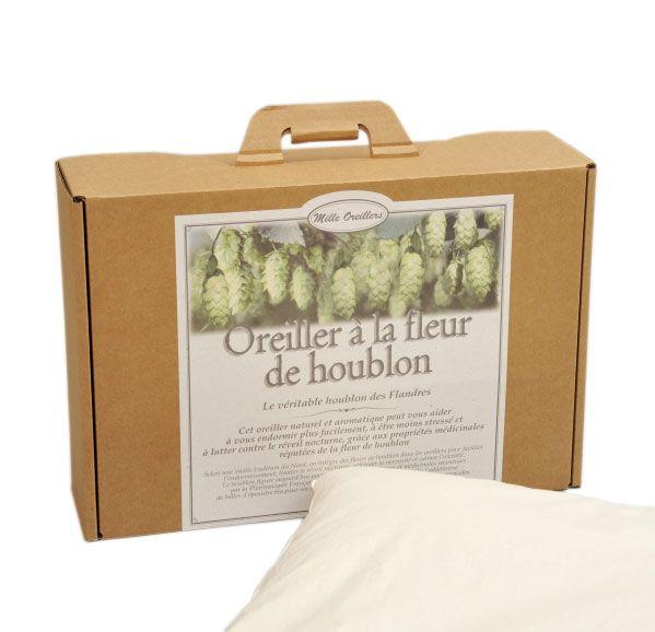 oreiller de houblon Literie : l'oreiller à la fleur de Houblon des Flandres | Nuit  oreiller de houblon