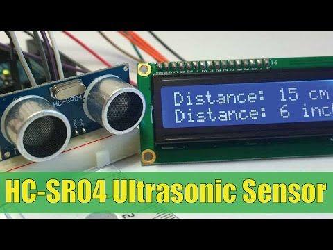 Ultrasonic Sensor Hc Sr04 And Arduino Tutorial Youtube Arduino Sensor Electronics Mini Projects