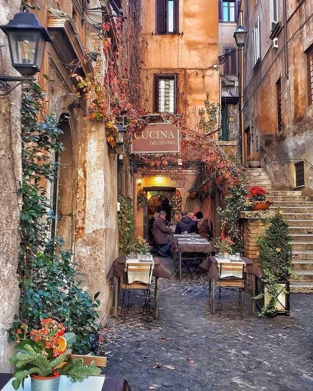 Restaurant in Rome #beautifulplaces