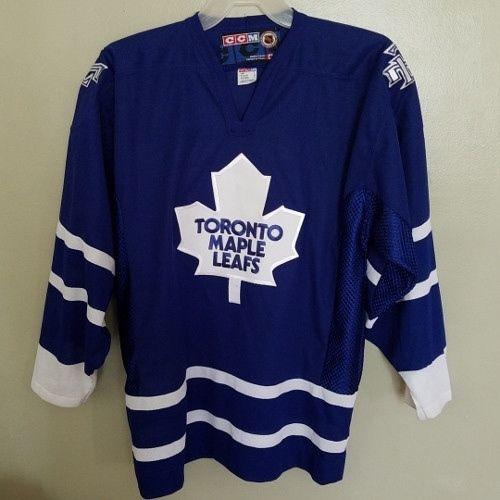 Toronto Maple Leafs Stitched Ccm Hockey Jersey Size Large Adult Toronto Maple Leafs Ccm Hockey Maple Leafs
