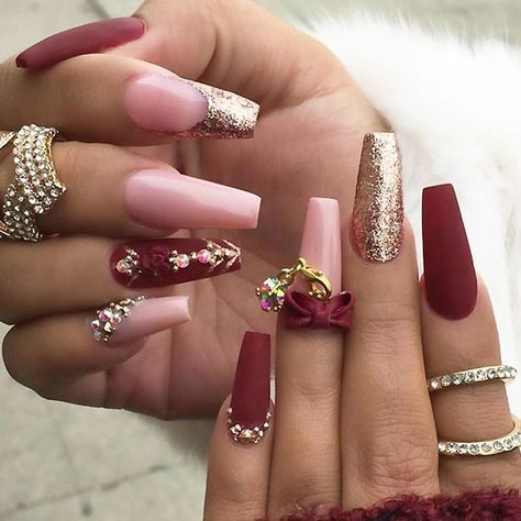 pinrochelle on nail ideas  gold nails nail designs