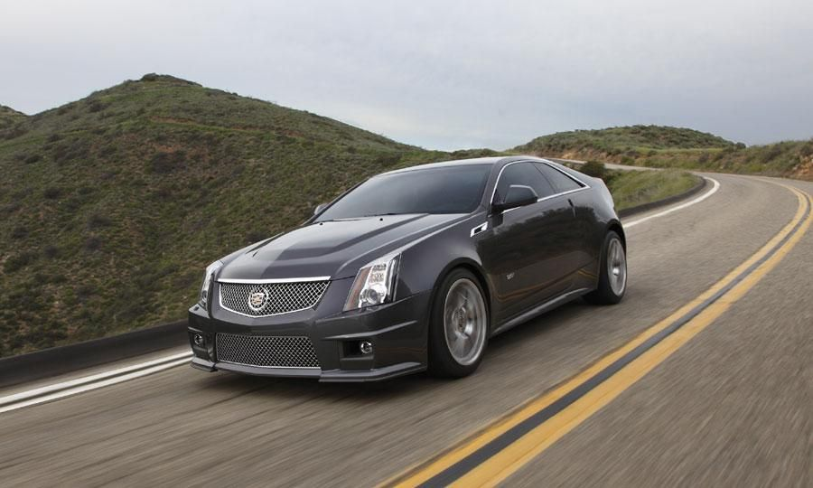 2014 Cadillac Cts V Coupe Review Notes Pricing Specs Photos