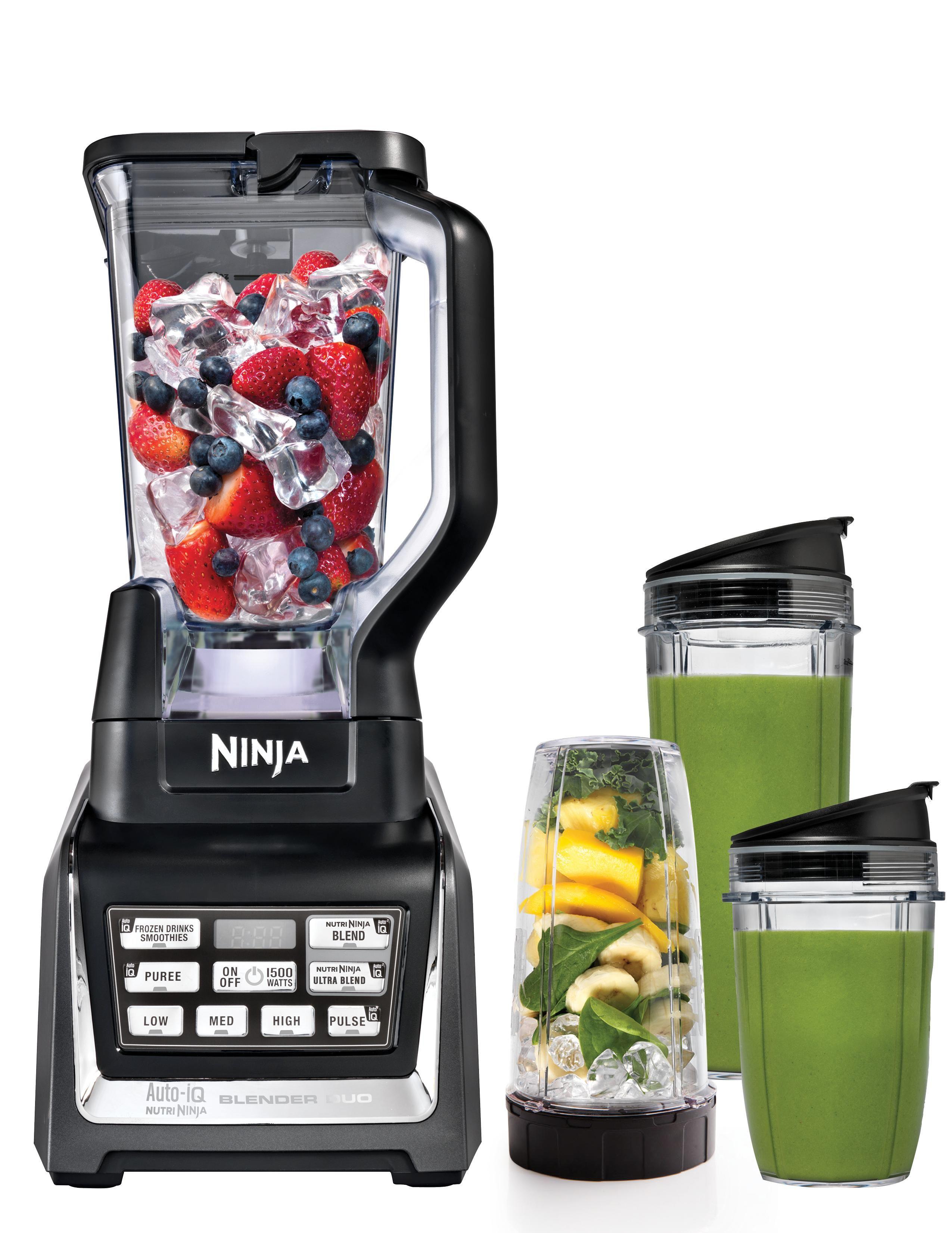 Amazon Com Nutri Ninja Blender Duo With Auto Iq Bl642 Kitchen Dining Ninja Blender Nutri Ninja Blender