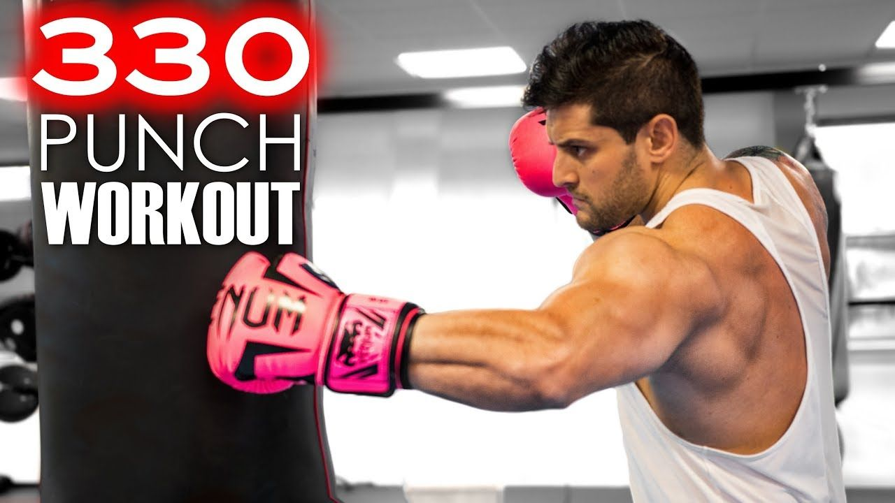330 Punch Workout Challenge Build Muscle Speed Power Heavy Bag Combos Lexfitnessvideo Workout Challenge Boxing Workout Fitness Motivation Videos