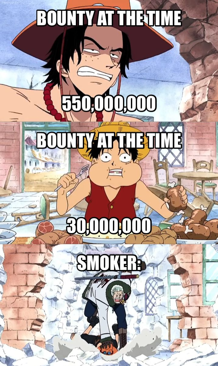 Oh come on Smoker!!!! in 2020  One piece comic, One piece funny, One piece meme