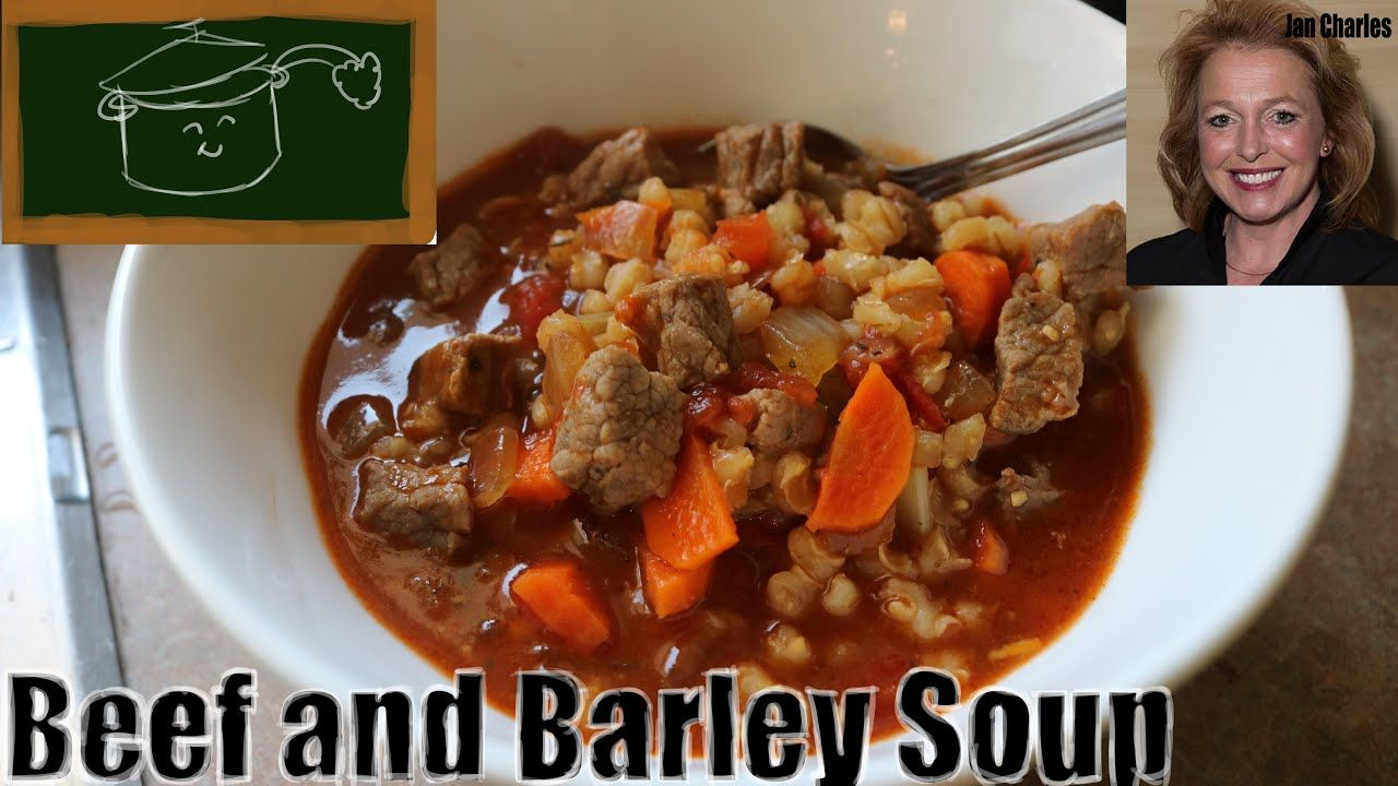 How to Make the Best Homemade Beef and Barley Soup Rich