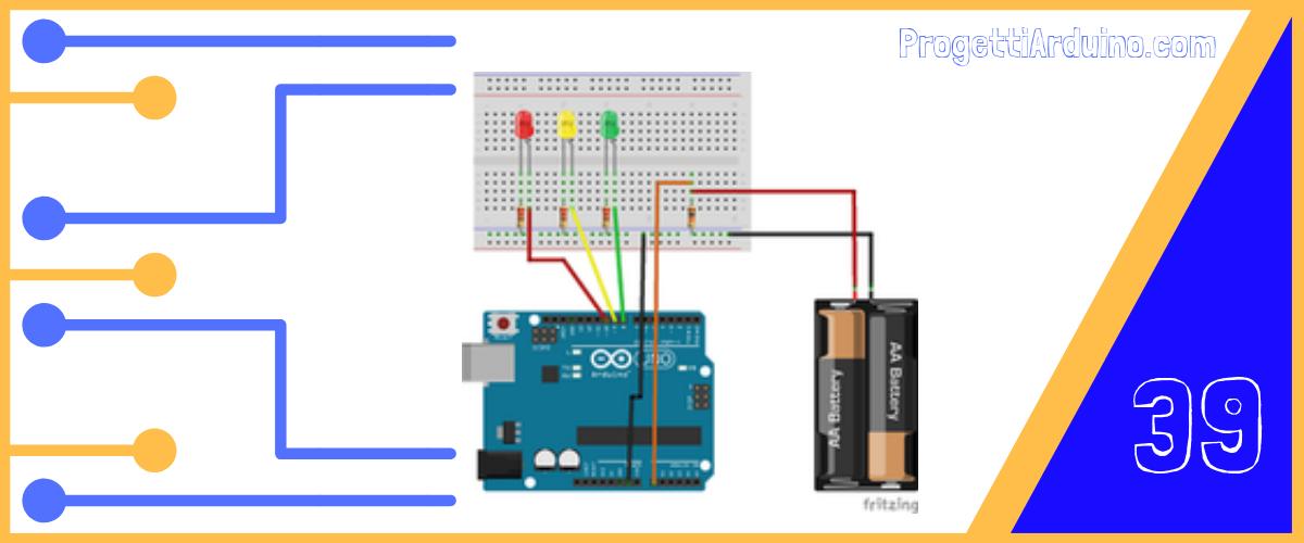 arduino controllo batteria