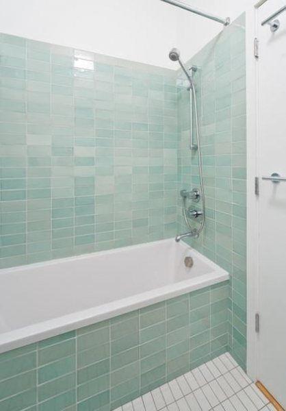 Color Spotlight Moonstone Aqua And Glacier Bay Fireclay Tile Glass Tile Bathroom Glass Bathroom Tile Bathroom