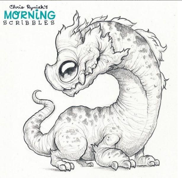 Pin de gulujo tattoo en Mornings | Pinterest | Dibujo, Criatura y ...