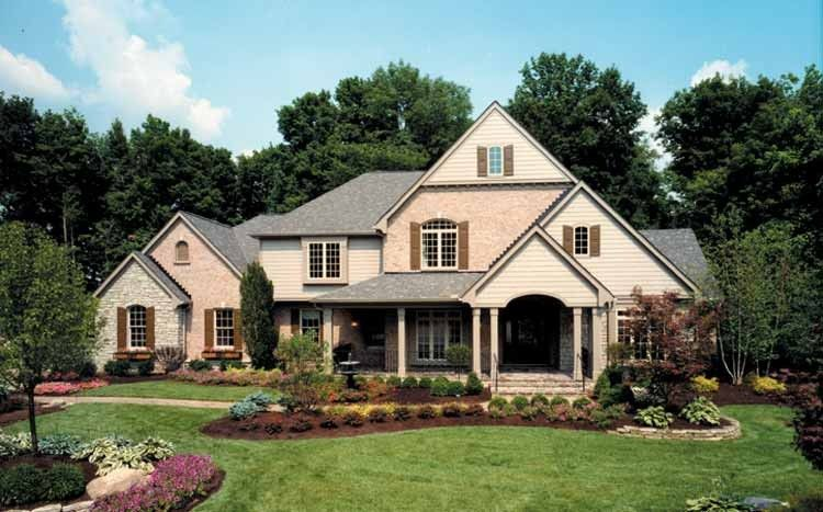 Eplans Country House Plan Four Bedroom Country 3816 Square Feet And 4 Bedrooms S From Eplans House Diy House Plans Luxury House Plans Dream House Plans