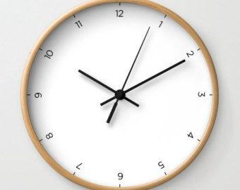 Horloge Murale Classique 5 Couleurs Horloge Par Lachichomedecor