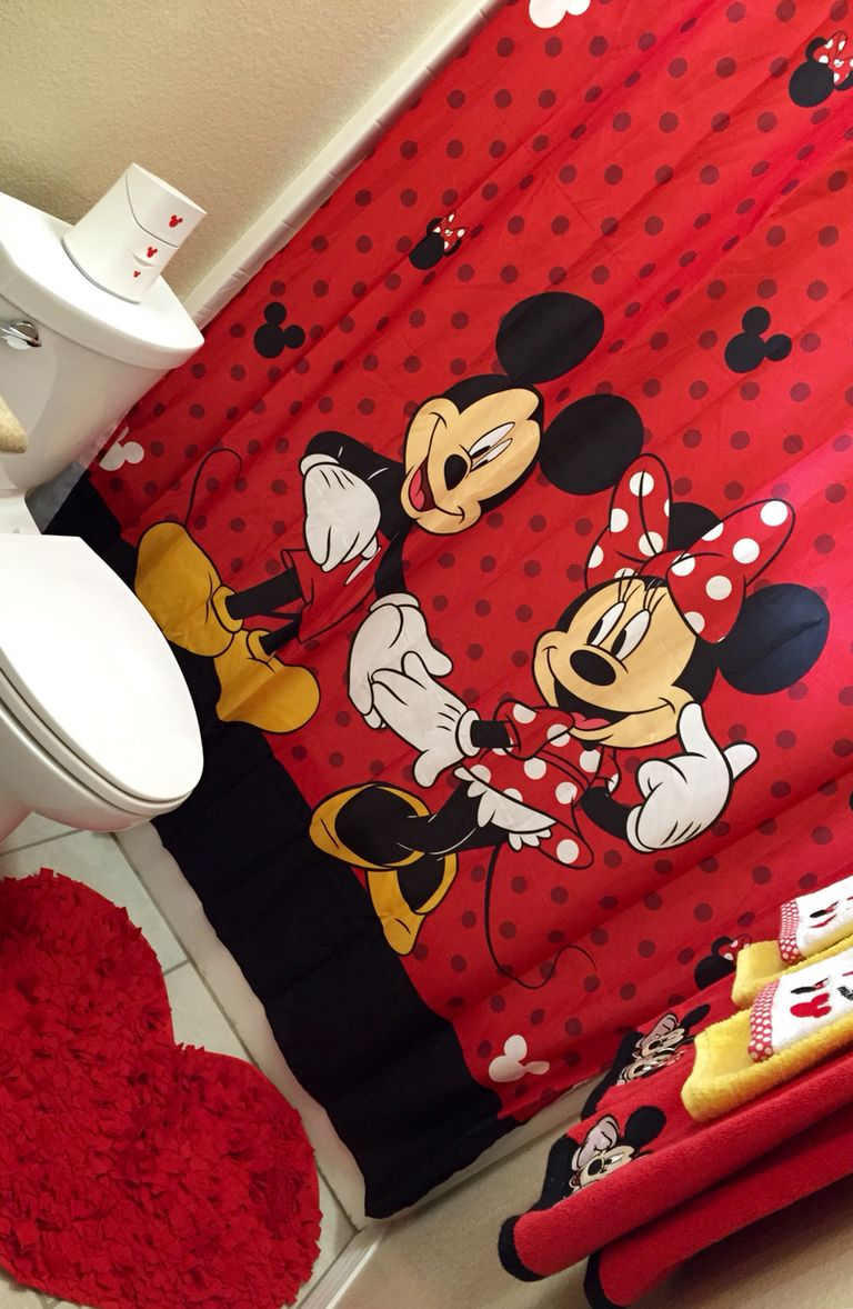 Creative Ways You Can Improve Your Mickey Mouse Bathroom: Mickey