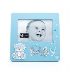 Urso baby Azul - Porta Retrato