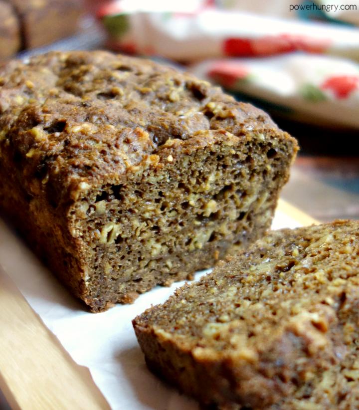 Gluten Free Teff Oat Bread Vegan Yeast Free Power Hungry Recipe Teff Recipes Coconut Flour Banana Bread Teff Bread
