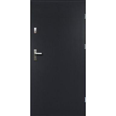 Drzwi zewnętrzne stalowe ARTEMIDA Antracyt 80 Prawe