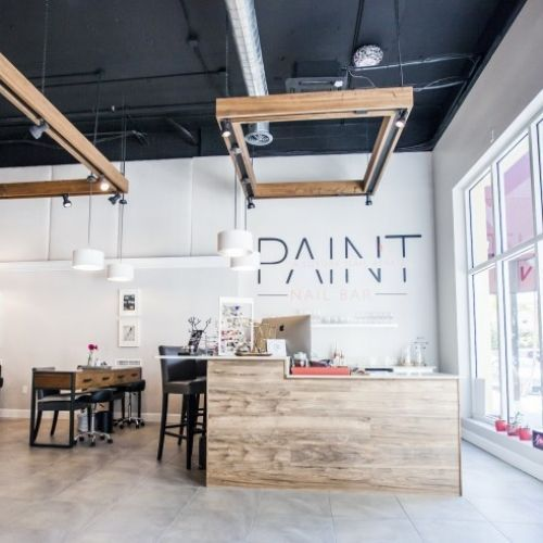 Paint nail bar in sarasota fl luxury nail affair - Nail salon interior design photos ...