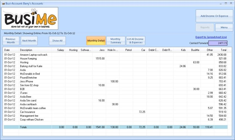 Free accounts package for small organisations Exports to - Financial Spreadsheet For Small Business